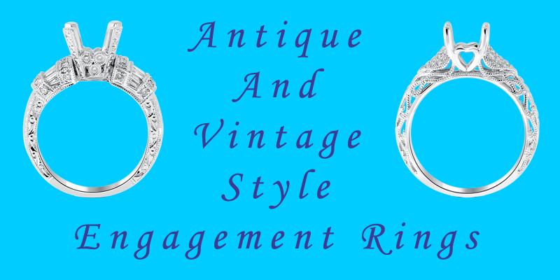 vintage engagement rings and antique engagement rings in chicago il illinois