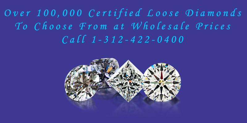 certified loose diamonds from diamonds chicago for your engagement ring