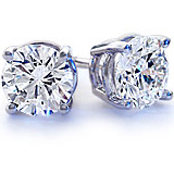 diamond stud earrings in chicago il illinois