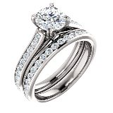 engagement rings and wedding rings bridal sets with matching engagement ring and wedding ring sets