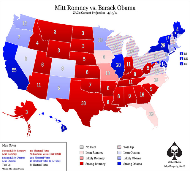 Gay Marriage United States Map.How Does Obama S Gay Marriage Support Affect The Electoral Map
