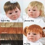 Premiere Reborning Doll Kits Sculpting Supplies Doll Wigs For
