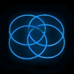 Glow Necklaces Blue Tube of 50