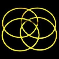 Glow Necklaces Yellow Tube of 50
