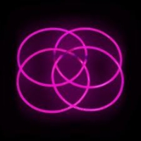 Glow Necklaces Pink Tube of 50