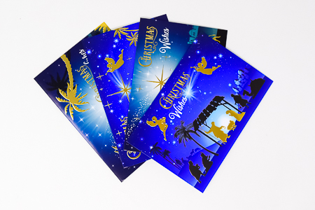 10 Christmas Cards.