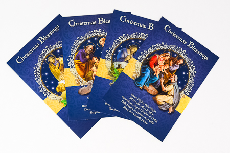 Christmas Blessings Cards.
