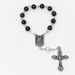 Hemarite Handheld Rosary.