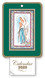 2020 Calendar - Our Lady of Lourdes.
