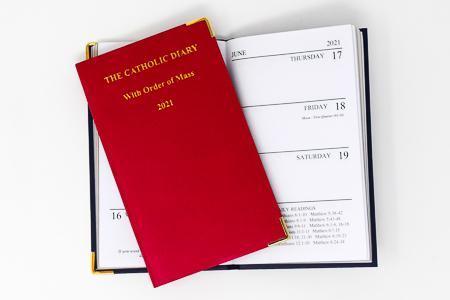 2021 Catholic Diary.