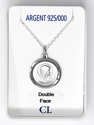 925 Lourdes Apparition Necklace.