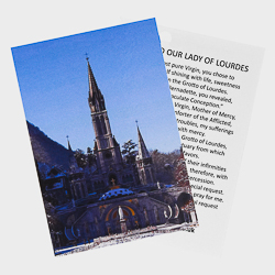 Lourdes Sanctuary Card