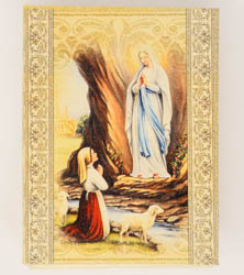 Lourdes Apparition Rosary Box.