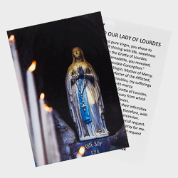 Virgin Mary Holy Card