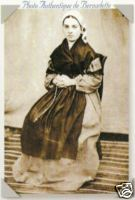 St Bernadette Photo 1864.