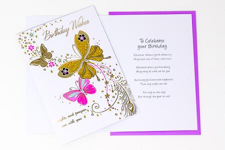 Card A Birthday Prayer For You.