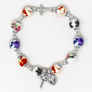 Elastic Miraculous Rosary Bracelet.