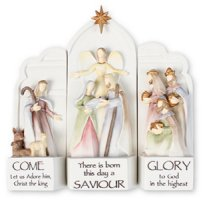 3 Piece Nativity Set.
