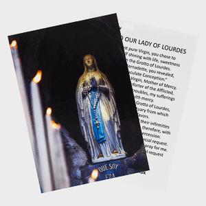 Virgin Mary Holy Card