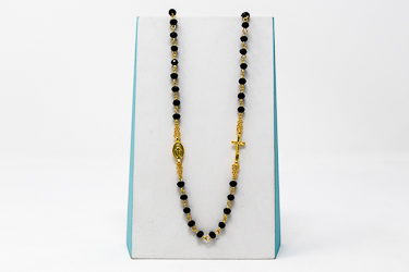 5 Decade Miraculous Rosary Necklace.