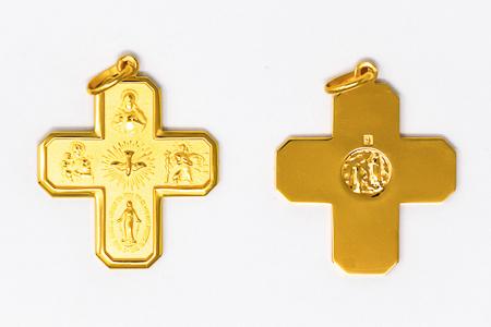 5 Way Miraculous Medal Pendant.