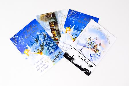 6 Christmas Cards.