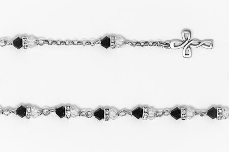 Swarovski Crystal Rosary Bracelet