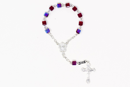 Sterling Silver Single Decade Rosary.