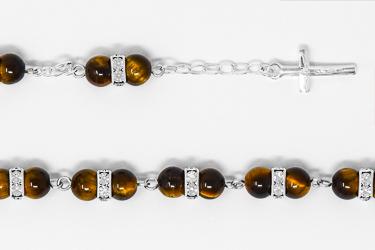 925 Tiger Eye Bracelet.