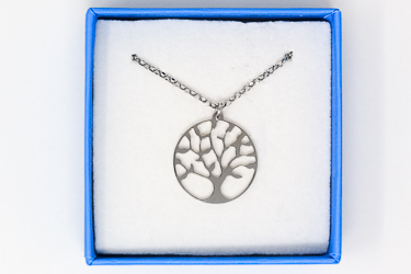 925 Silver Tree of Life Necklace.