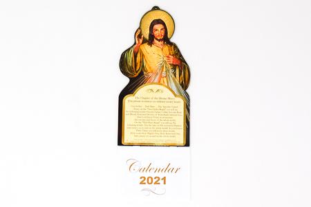 Divine Mercy - Calendar 2021.