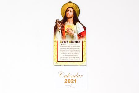 Sacred Heart of Jesus  - Calendar 2021.