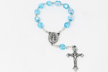 Handheld Turquoise Rosary.