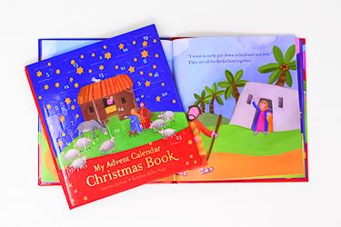 My Advent Calendar Christmas Book.