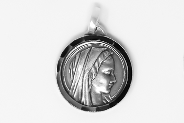 Virgin Mary Silver Medal