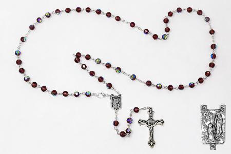 Amethyst Rosary.
