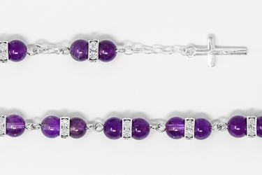 925 Amethyst Bracelet.