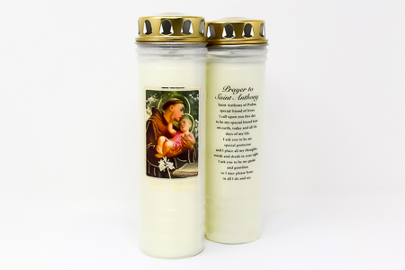 St. Anthony Candle for 7 Days & 7 Nights.