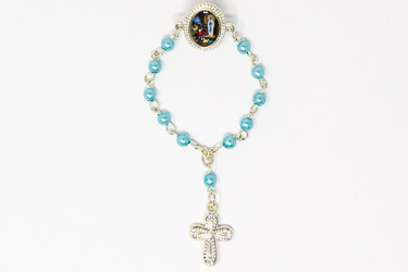 Lourdes Clothes Rosary Pin.