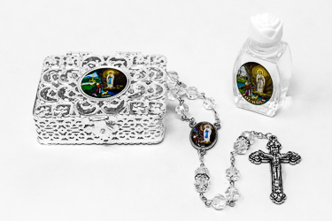 Apparition Rosary Gift Set.