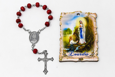 Rose Scented One Decade Rosary.