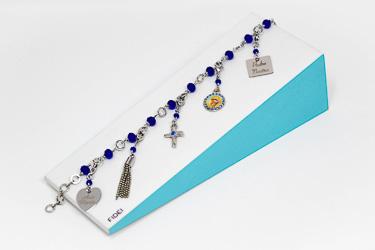 Ave Maria Charm Bracelet.