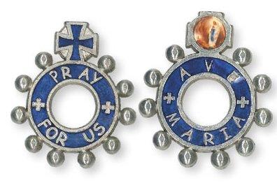 Pocket Rosary Ave Maria Pray for us.