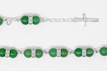 925 Aventurine Bracelet.