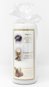 Baptismal Candle.