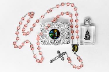 Lourdes Rosary Gift Set.