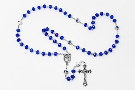 Bernadette Amethyst Rosary.