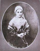 Portrate of St Bernadette.