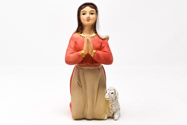 St Bernadette Statue.