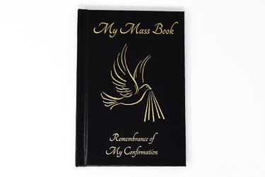 Black Confirmation Mass Book.